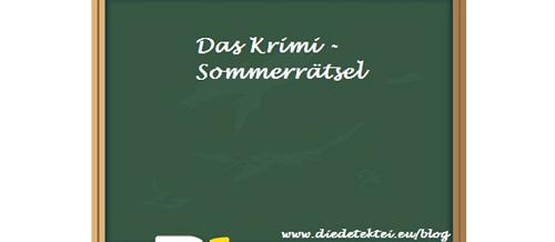 Krimi- Sommerrätsel 2011