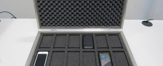 Geschirmter Koffer – Abhörschutz für Handy und Co