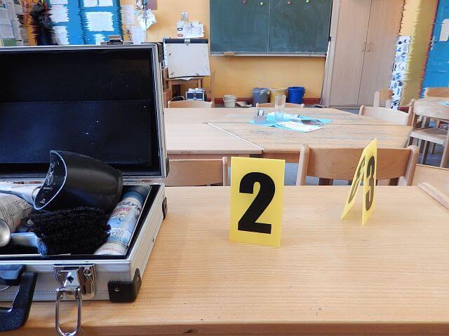 Detektiv Seminar im Klassenzimmer - Detektei Taute