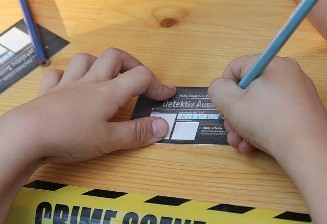 Kinder Detektiv - Detektivausweis - Detektei Taute