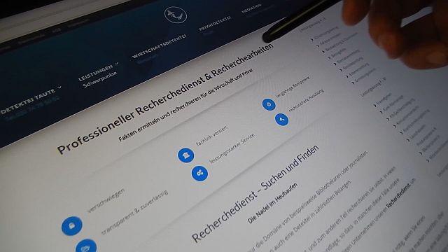 Detektiv Berlin Taute - Ermittlungen - Recherchen