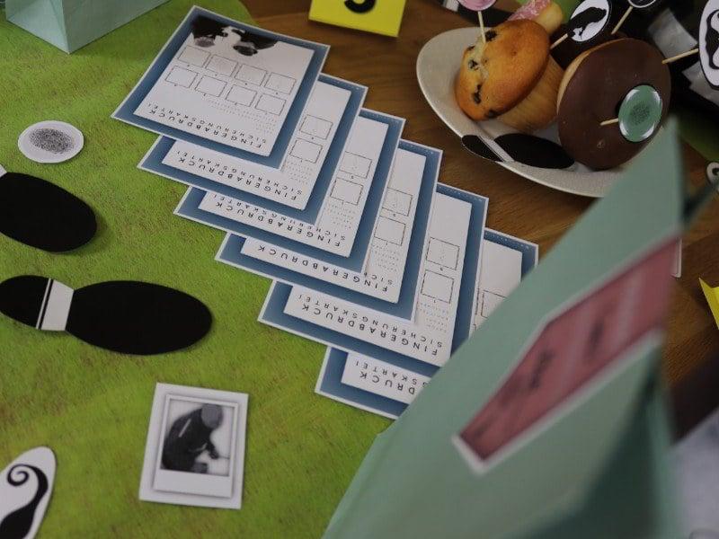 Fingerabdruck sichern mit der Fingerabdrucksicherungskartei