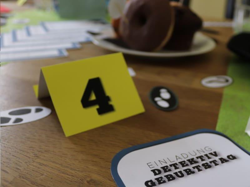 Tatort Nummernschilder zur Spurensicherung